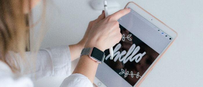 Formación en el uso del iPad